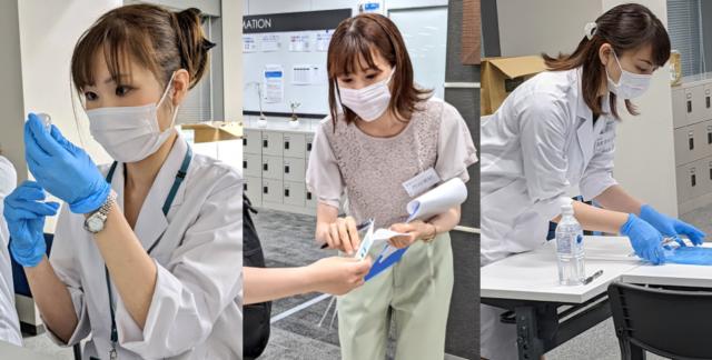 新宿ワクチン接種 第1回